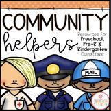 COMMUNITY HELPERS THEME ACTIVITIES FOR PRESCHOOL, PRE-K AND KINDERGARTEN