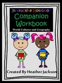 COMPANION WORKBOOK for Interactive Notebook World Cultures and Geography