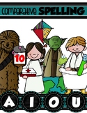 COMPARATIVE WORD FAMILY SPELLING Lists {for your Jedi/Star Wars} CVCe