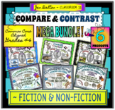 COMPARING MYTHS & HIGH INTEREST NON-FICTION: COMPARE AND CONTRAST MEGA BUNDLE!