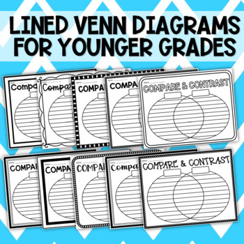Blank Compare And Contrast Venn Diagram Template Tpt