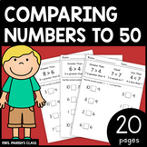 COMPARE NUMBERS TO 50