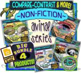 COMPARE and CONTRAST: High Interest Non Fiction~ TRIPLE BUNDLE!
