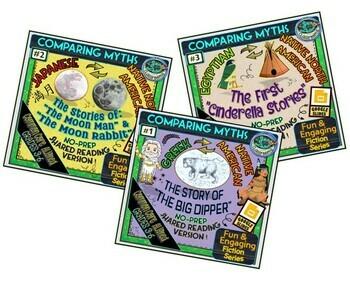 COMPARING MYTHS ACROSS CULTURES TRIPLE BUNDLE!