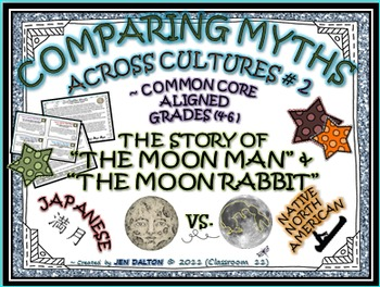"""COMPARING MYTHS ACROSS CULTURES #2: THE STORY OF """"THE MOON MAN"""" & """"MOON RABBIT"""""""