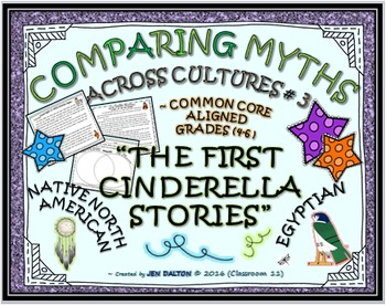 COMPARING MYTHS ACROSS CULTURES #3(SUMMARY PROJECT):THE FIRST CINDERELLA STORIES