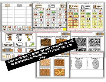TIGER, GIRAFFE & ZEBRA ART LESSON AND ART-ZOO ANIMAL COMPARISON LESSON
