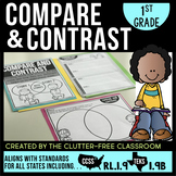 COMPARING and CONTRASTING STORIES First Grade RL1.9 (CCSS RL 1.9 and TEKS 1.9B)