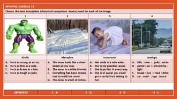 COMPARISON RHETORICAL DEVICES HANDOUTS