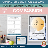 COMPASSION Positive Behavior | Daily Character Education |