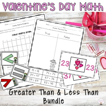 GREATER THAN AND LESS THAN WORKSHEETS, LESSON PLANS, ACTIVITIES, CENTERS