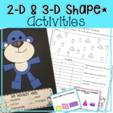 2-D SHAPES GAMES, ACTIVITIES, WORKSHEETS, LESSON PLANS, AND MORE