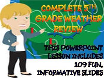 COMPLETE 5TH GRADE WEATHER UNIT (End of Grade Prep)