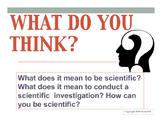 Scientific Inquiry Vocabulary Review