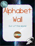 Alphabet Word Wall Kit – Out of this World