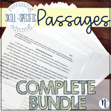 COMPLETE BUNDLE: ALL Skill-Specific Revising & Editing Passages
