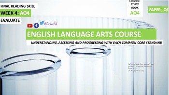 COMPLETE COURSE BUNDLE Revision Ebook English Language Arts Units 1 to 4