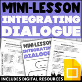 COMPLETE Dialogue Lesson   Narrative Writing   Grammar Pra