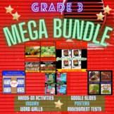 ONTARIO GRADE 3 SCIENCE: ALL TOPICS MEGA BUNDLE