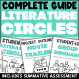 LITERATURE CIRCLES, Book Clubs for any Novel, Literature Circle Roles, Rubrics