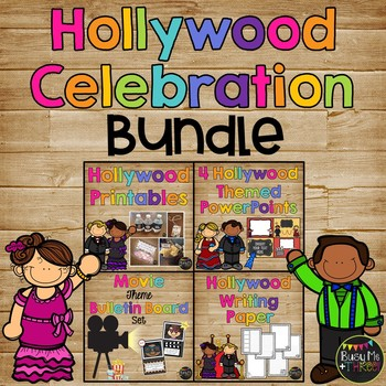 {COMPLETE} Hollywood Celebration Set, Powerpoint, Printables, Paper, & MORE!