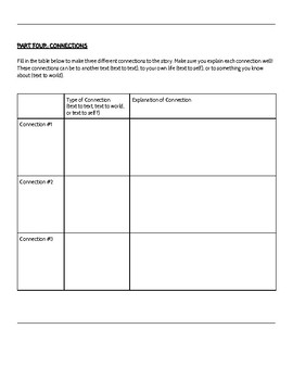 COMPLETE Independent Novel Study Assignment (Fiction Texts)