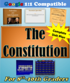 COMPLETE Lesson Plan Unit: Writing the Constitution 1783-1791