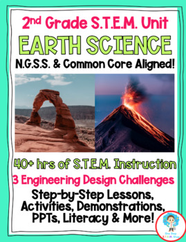 COMPLETE NGSS 2nd Grade Earth Science Unit!!