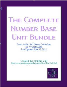 COMPLETE Number Bases Unit