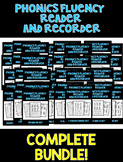 COMPLETE PHONICS BUNDLE! - Phonics Fluency Assessments