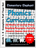 COMPLETE PHONICS Curriculum bundle-(Full Year!!!) by:Eleme