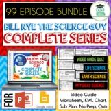 COMPLETE SERIES Bill Nye 99 EPISODE BUNDLE, Video Guides,