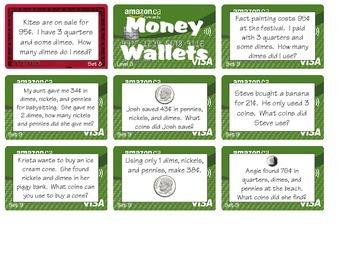 COMPLETE SET - Money Wallets!!! (Levels 1 - 5) 2.MD.C8