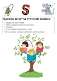 COMPLETE SYNTHETIC PHONICS ROGRAM- ALIGNED WITH JOLLY PHONICS