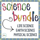 Science Bundle for the YEAR (with Interactive Notes)