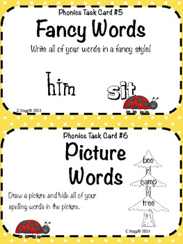 1st Grade LITERACY STATIONS: September