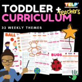Complete Toddler Curriculum - 32 Themes