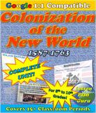 COMPLETE Lesson Plan Unit: Colonial America 1587-1763