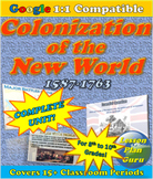 COMPLETE Lesson Plan Unit: Colonial America 1587-1763