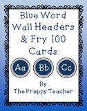 COMPLETE Word Wall Package BLUE