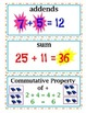 COMPLETE enVision Math CC Edition & 2014 Realize Edition Vocab Cards Grade 3