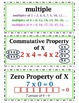 COMPLETE enVision Math Common Core Realize Edition Vocab Word Wall Cards Grade 4