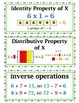 COMPLETE enVision Math CC 2014 Realize Edition Vocab Word Wall Cards Grade 4