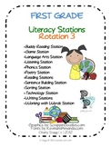 1st Grade LITERACY STATIONS: Rotation 3 of 5