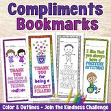 COMPLIMENT CARDS OR BOOKMARKS No-Prep Positive Affirmation