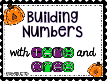 COMPOSE AND DECOMPOSE TEEN NUMBERS