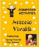 COMPOSER ACTIVITIES Antonio Vivaldi