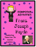 COMPOSER ACTIVITIES Franz Joseph Haydn