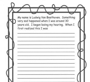 COMPOSER ACTIVITIES Ludwig Van Beethoven