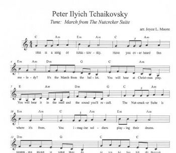 COMPOSER ACTIVITIES Peter Ilyich Tchaikovsky